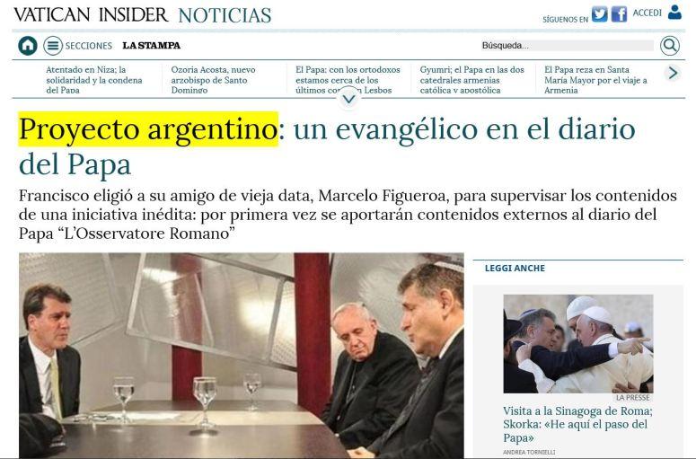 PROYECTO DE APOSTASIA ARGENTINO