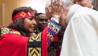 indigena bergoglio
